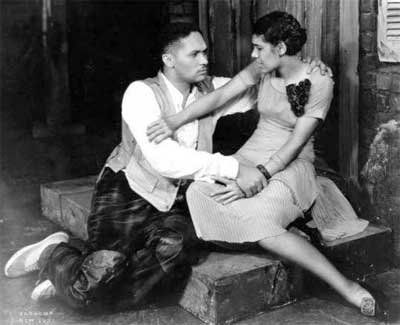 """Anne Brown and Todd Duncan in the 1940 production of """"Porgy and Bess"""""""