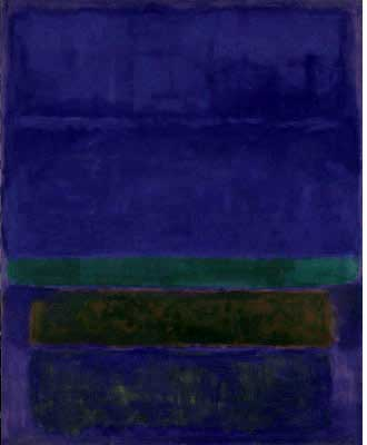 "Mark Rothko, ""Untitled [Blue, Green, and Brown]"",1952"