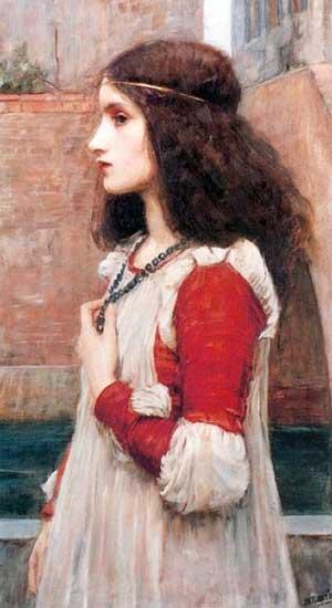 "John William Waterhouse, ""Juliet"" (1898)"
