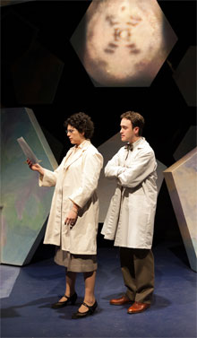 Becky Webber as Rosalind Franklin, Nick Sulfaro as Ray Gosling