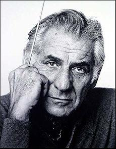 Leonard Bernstein.  Photo by Jack Mitchell