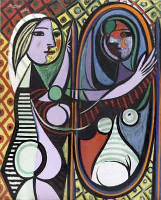 "Pablo Picasso, ""Girl Before A Mirror"" (1932)"