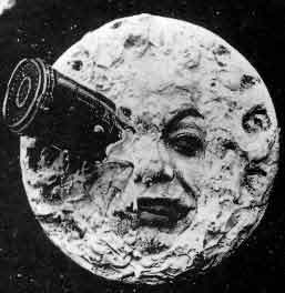 """From """"A Trip To the Moon"""" by Georges Méliès"""