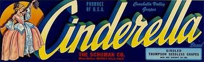 Cinderella Label