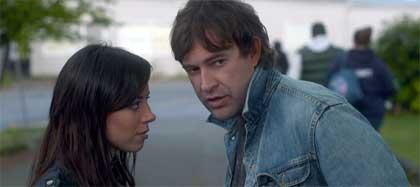 Aubrey Plaza as Darius and Mark Duplass as Kenneth