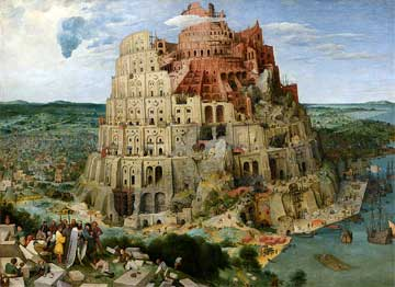 "Pieter Breughel the Elder, ""The Tower of Babel"""