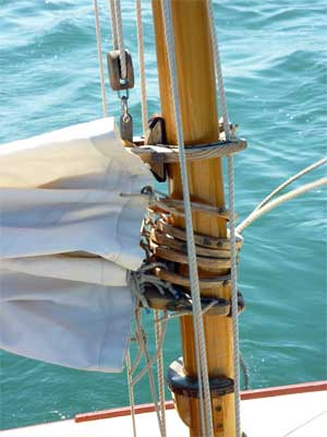 "Mast Detail from ""Bonnie Sea"""