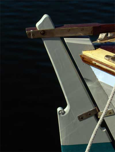 """Rudder Detail from """"Far and Away"""""""
