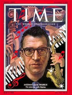 Dave Brubeck, Time Magazine, November, 1954