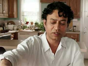 Irrfan Khan as the older Pi in 'Life of Pi'