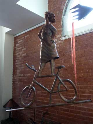 'Bicycle Girl' (2012) by John Field