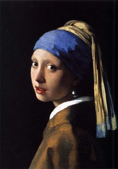 Johannes Vermeer, 'The Girl With a Pearl Earring' (1665)