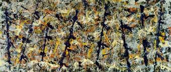 Jackson Pollock, 'Blue Poles'
