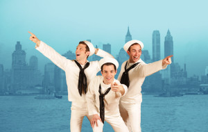 Zachary Eisenstat as Ozzie, John Ambrosino as Gabey, Phil Tayler as Chip, in 'On The Town'