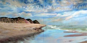 Jane Sherrill,  'Toward Ballston Beach' (2012)