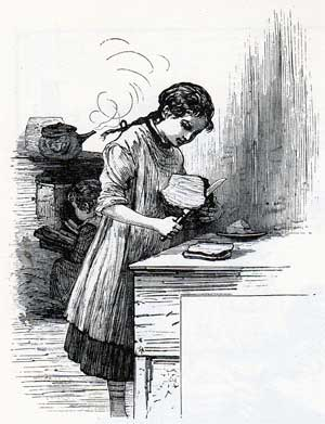 Girl in Kitchen