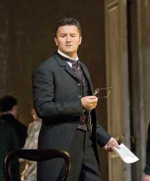 Piotr Beczala as Lenski in 'Eugene Onegin'