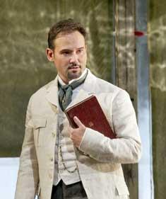 Mariusz Kwiecien as Eugene Onegin in 'Eugene Onegin'