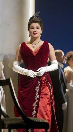 Anna Netrebko as Tatiana in 'Eugene Onegin'