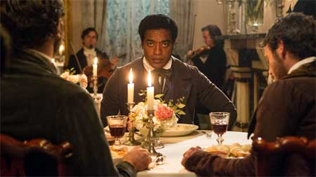 Chiwetel Ejiofor as Solomon Northup in 'Twelve Years a Slave'