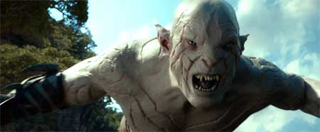 Azog, performed by Manu Bennett in 'The Hobbit: The Desolation of Smaug'