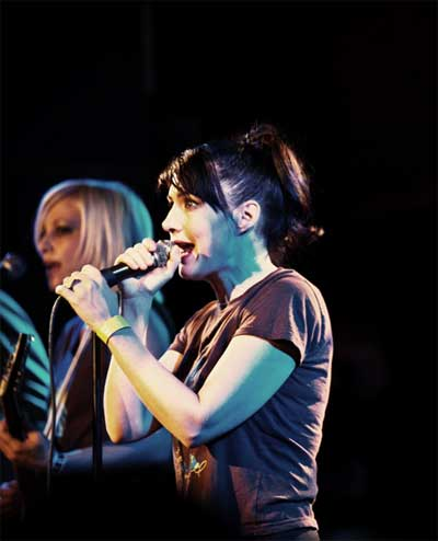 Kathleen Hanna in 'The Punk Singer'