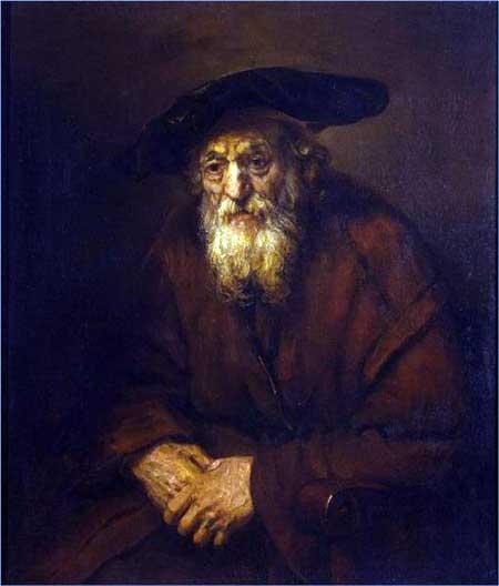 Rembrandt van Rijn, 'Portrait of an Old Jew' (1654), The Hermitage Museum, St. Petersburg, Russia