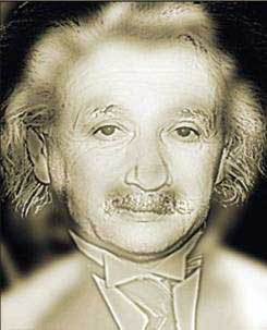 Albert Einstein Marilyn Monroe optical illusion
