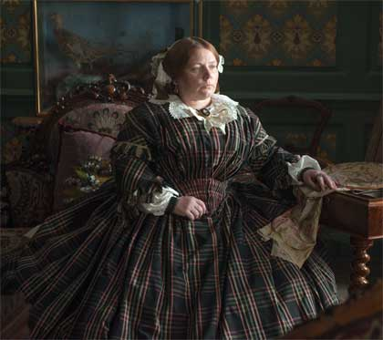 Joanna Scanlan as Catherine Dickens in 'The Invisible Woman'