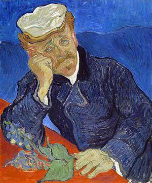 Vincent van Gogh, Portrait of Dr. Gachet
