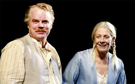 Philip Seymour Hoffman as Jamie Tyrone, Vanessa Redgrave as Mary Tyrone in Euguene O'Neill's 'Long Day's Journey Into Night' (2003)