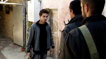 Shadi Mar'i as Sanfur in 'Bethlehem'