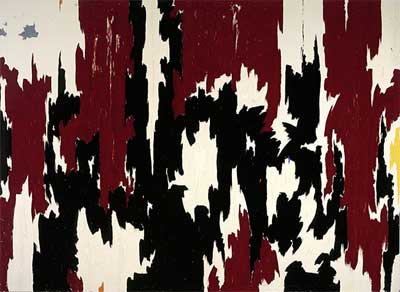 1957 J No. 2 (PH 401) - 1957 by Clyfford Still