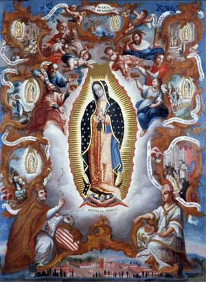 Sebastián Salcedo, 'Virgin of Guadalupe', Mexico, 1779, From the Spanish Colonial Art Collection