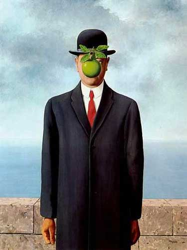 René Magritte, 'The Son of Man' (1964)