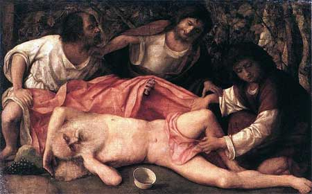 Giovanni Bellini, 'The Drunkenness of Noah' (1515)