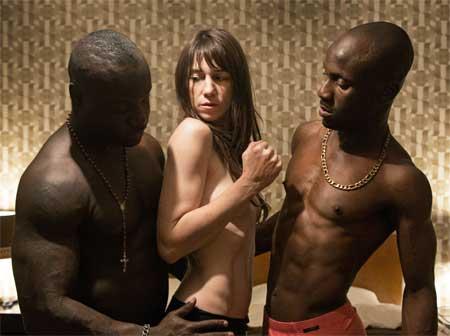 Kookie Ryan, Charlotte Gainsbourg as Joe, Papou in 'Nymph()maniac, Volume II'