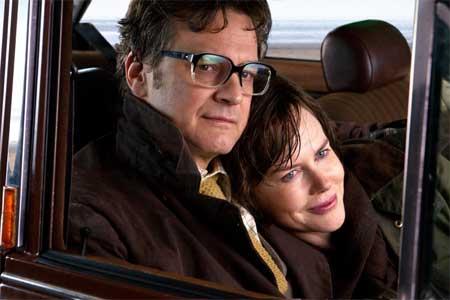 Colin Firth as Eric, Nicole Kidman as Patti in 'The Railway Man'