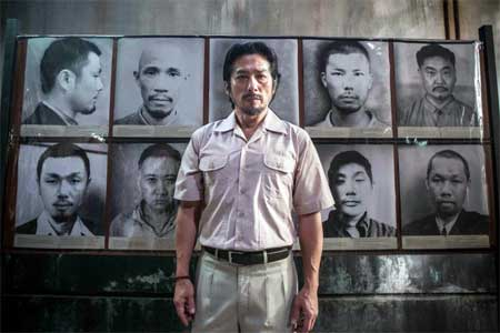 Hiroyuki Sanada as Nagase in 'The Railway Man'