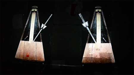 William Kentridge, 'The Refusal of Time' (Metronomes)