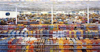 Andreas Gursky, '99 Cent, I' (2001)