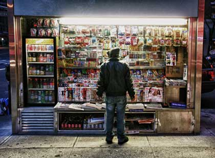 Food storefront, photo by Christopher Bullock