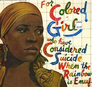 'For Colored Girls...', Original Broadway Production Poster