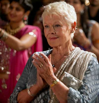 Judi Dench as Evelyn Greenslade in 'The Second Best Exotic Marigold Hotel'