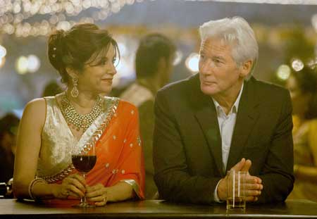 Lillete Dubey as Mrs. Kapoor, Richard Gere as Guy in 'The Second Best Exotic Marigold Hotel'