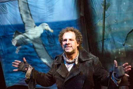 Benjamin Evett as The Mariner in 'Albatross'