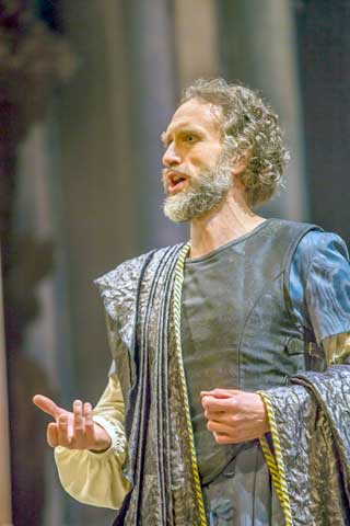 Christian Immler as Seneca in 'Poppea'