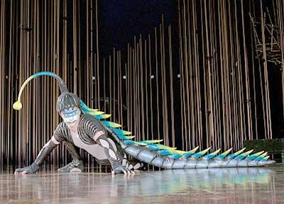 Lizard from 'Varekai'