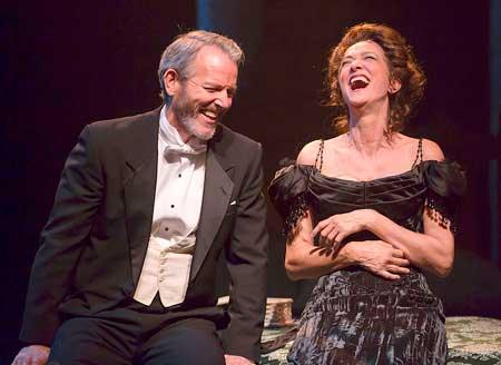 Stephen Bogardus as Fredrik Egerman, Haydn Gwynne as Desiree Armfeldt in 'A Little Night Music'