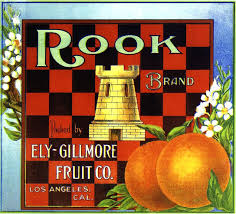 Rook Fruit Label